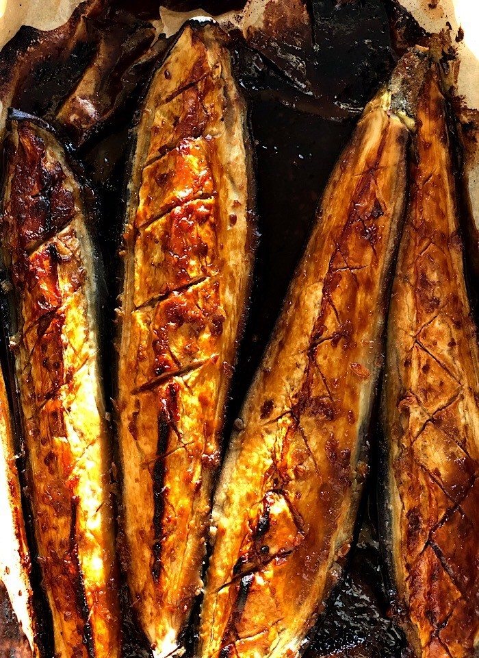 Spiced Miso Aubergine