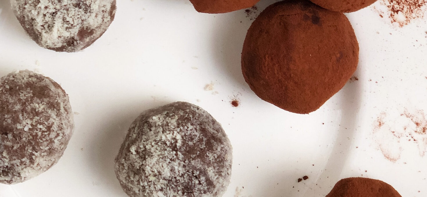 Simple Choc Orange Truffles