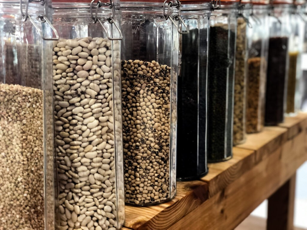 How to store dry goods